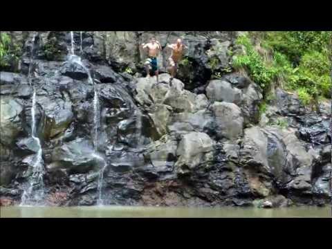 """Maui Waterfall Hike - Na'ili'ili Haele Stream & Waterfalls (aka """"Bamboo Forest"""")"""