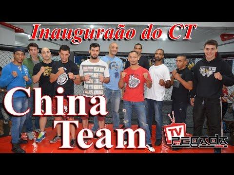 TV Pegada #0048 - Inauguração do CT China Team