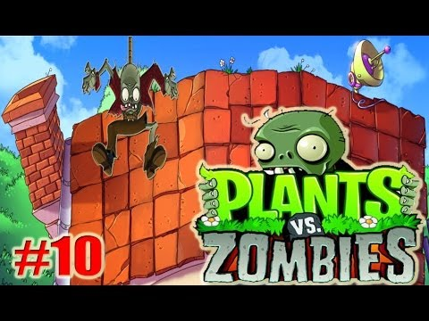 Plants VS Zombies #10 When Bungee Zombies Attack