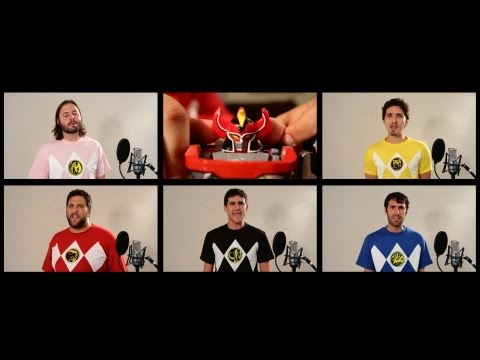 POWER RANGERS THEME SONG ACAPELLA