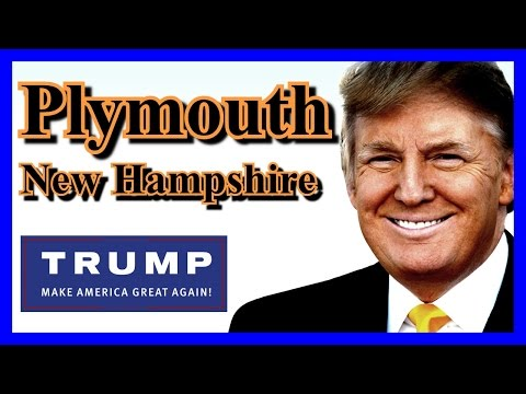 LIVE Donald Trump Plymouth New Hampshire FULL SPEECH HD Stream State University February 7 2016 ✔