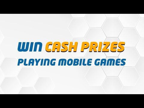 Play Mobile Games. Win Awesome Cash Prizes.