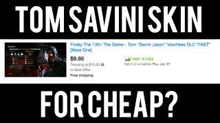 TOM SAVINI JASON SKINS FOR $10?