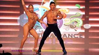 Karen y Ricardo, Aventura Dance Cruise LA 2017 - World's Largest Latin Dance Cruise