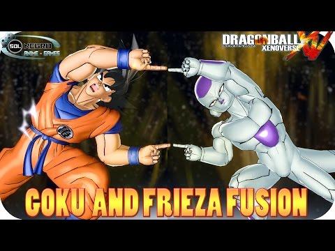 Fusion Goku and Frieza VS Ultra Perfect Cell - Dragon Ball Xenoverse mod
