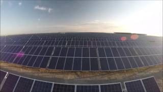 Enel Green Power's hybrid power plant in the USA