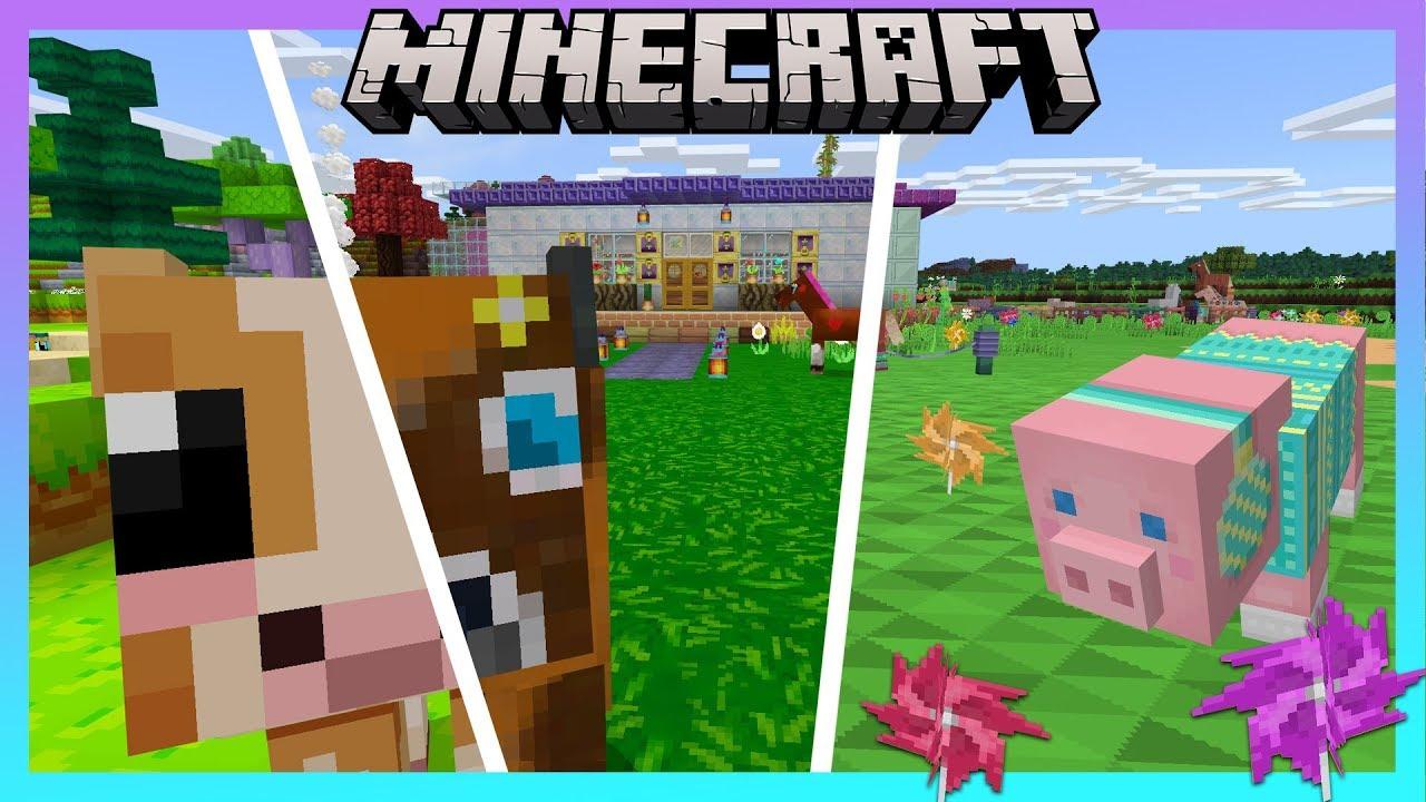 Cutest Minecraft Bedrock Edition Texture Packs Youtube