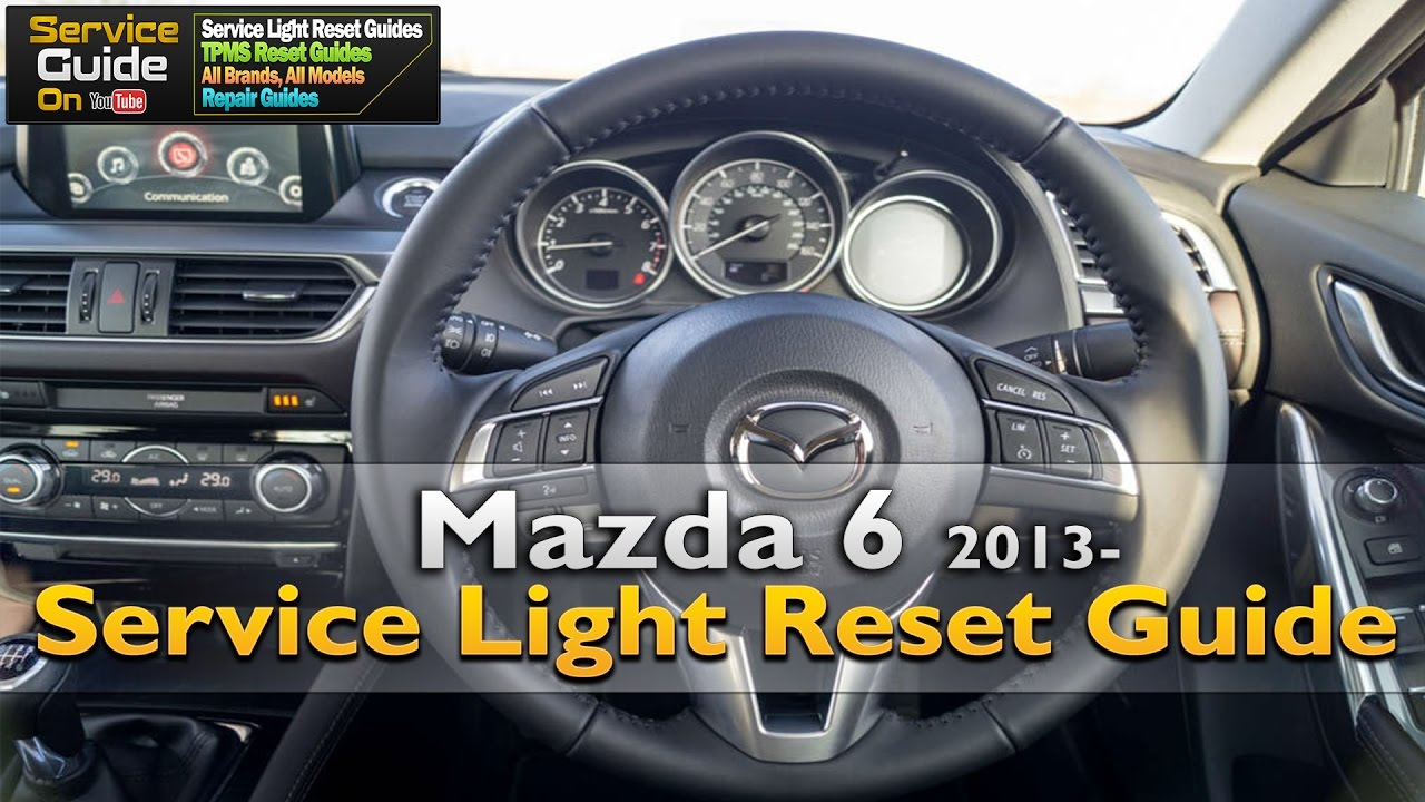 mazda 6 service light reset youtube rh youtube com 2005 Mazda 5 2005 Mazda 6 Ignition Wires