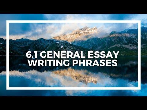 Spanish A level AQA Module 6.1 General essay writing phrases in Spanish