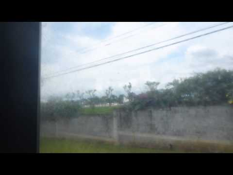 Bus From Alajuela to Zoo Aves   Costa Rica   September 2014
