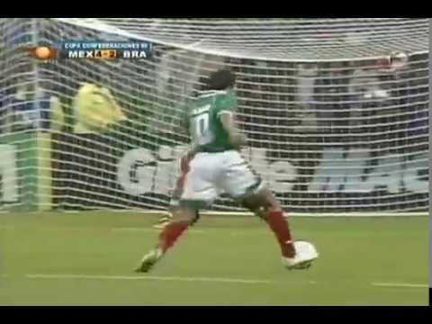 Gol de Cuauhtémoc Blanco Final Copa Confederaciones 1999 México 4-3 Brasil
