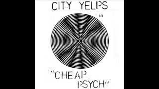 "City Yelps ""Cheap Psych"" cassette"