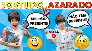SORTUDO VS AZARADO NO DIA DAS CRIANÇAS