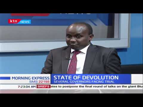 DEVOLUTION LIE:Devolution promises that didn\'t work out with several governors facing graft charges