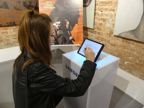 Samsung Galaxy Tab S3 launch in Poland - press conference -