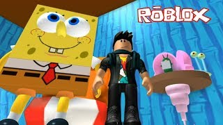 Roblox Spongebob Escape the Krusty Krab Obby ! || Roblox Gameplay || Konas2002