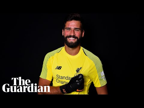 Alisson signs for Liverpool in world-record £65m deal