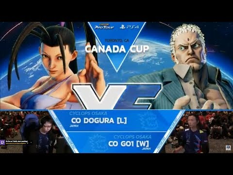 SFV:CO | GO1 vs CO | Dogura GF Canada Cup 2017 Top 8 - CPT2017