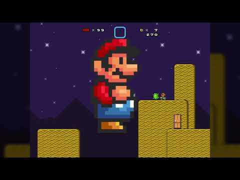 Download Super Mario Bros  X (SMBX) - Chased by Giant Mario