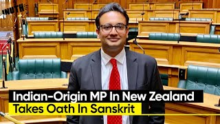 Indian-Origin MP In New Zealand Takes Oath In Sanskrit