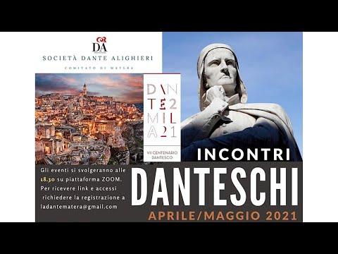 """Gli """"Incontri Danteschi"""" promossi dalla ..."""