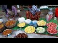 Huge Fruits & Traditional Food Arrangement For Ramadan Iftar - Evening Snacks For Fasting Villagers