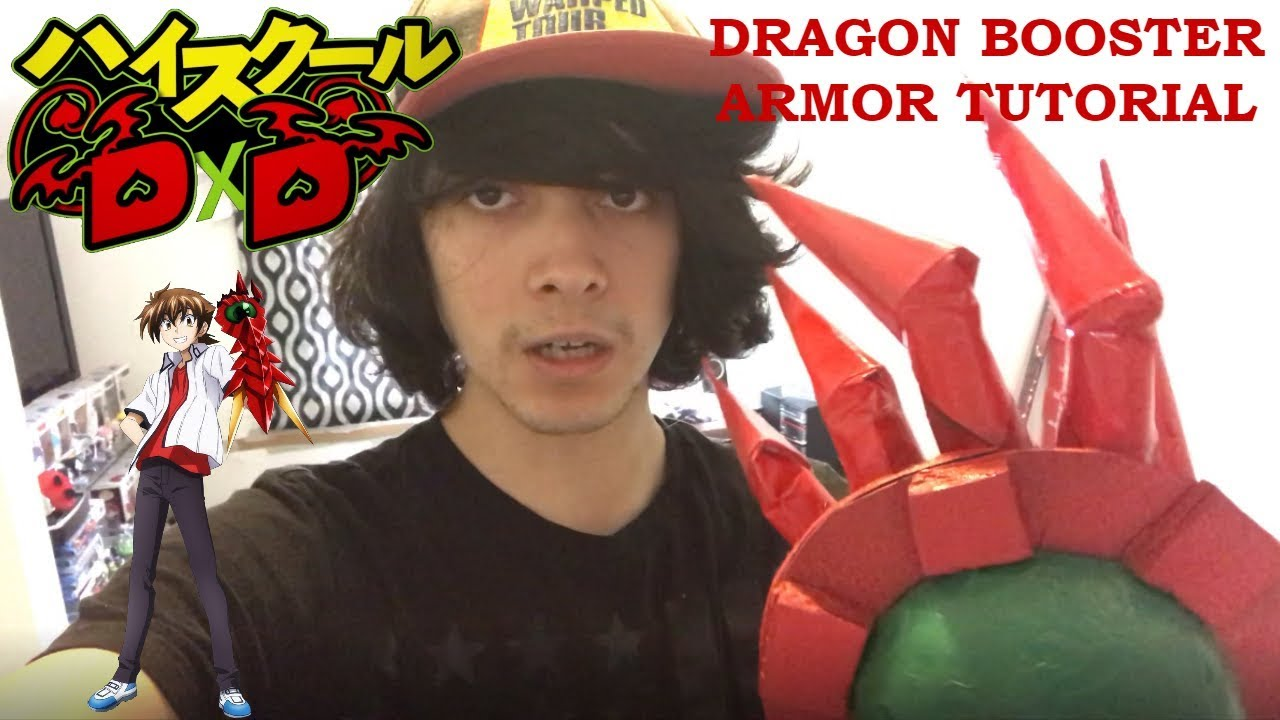 High School Dxd Issei Dragon Booster Armor Tutorial Youtube This is red dragon emperor's armor from anime highshooldxd it took me 8 hours to make it if you like it feel free to sub,like,share and com. high school dxd issei dragon booster armor tutorial