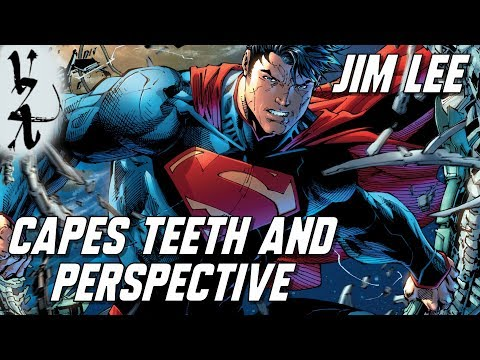 Jim Lee Art Lessons on Capes Teeth and Perspective