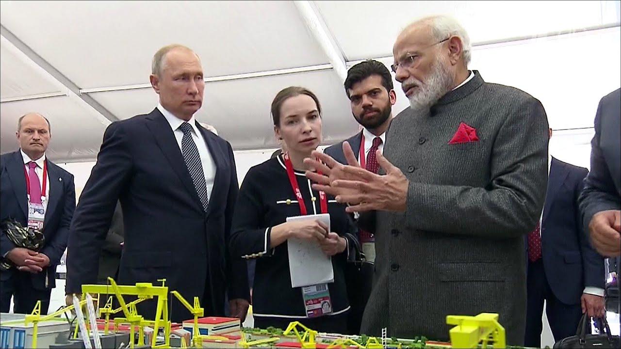 Путин и Моди обсудили возможности сотрудничества России и Индии