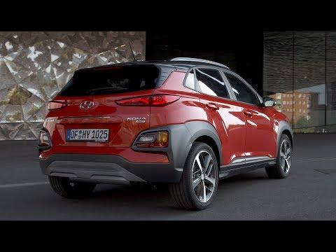 2018 Hyundai Kona Exterior Interior