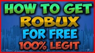 Download Outdated How To Get Free Robux Legit No Survey