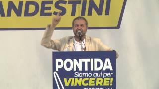 #Pontida 2015 - Intervento di Claudio #Borghi