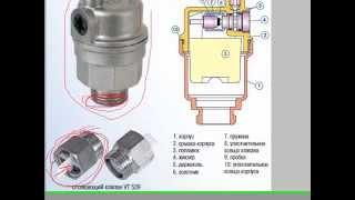 автоматический воздухоотводчик для отопления - устройство, предназначение, типы
