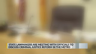 State lawmakers to meet with officials to discuss criminal justice reform in Albuquerque
