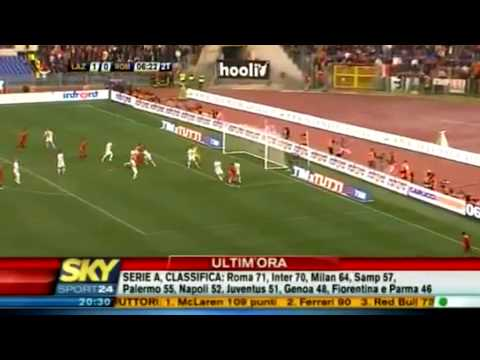 Lazio-Roma 1-2 | SKY SPORT HD 18/04/10