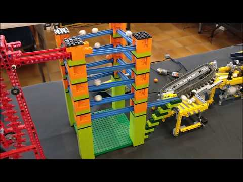 LEGO Great Ball Contraption at Brick En Bulles 2018 Reims