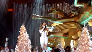 Mariah Carey - Joy To The World - NBC Christmas in Rockefeller Center 2013