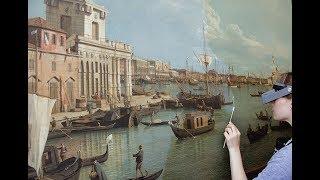 Canaletto and the Vedute Room: A Conservation Project