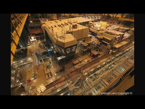 The Building of RRS Sir David Attenborough: Completion of the hull