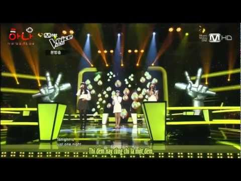[Vietsub][Voice Kids - Battle Round] Myungju, Siyoung & Hyesung - Missing you (Fly to the Sky)