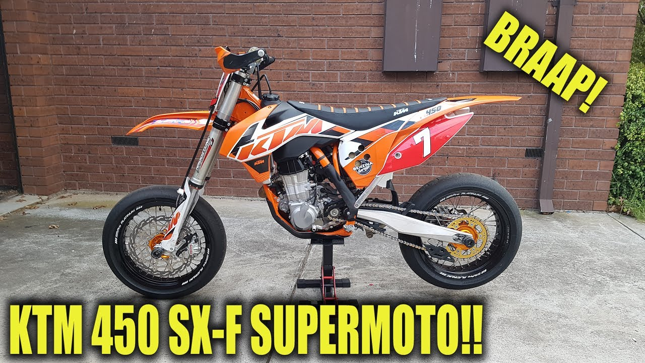 how to build a supermoto