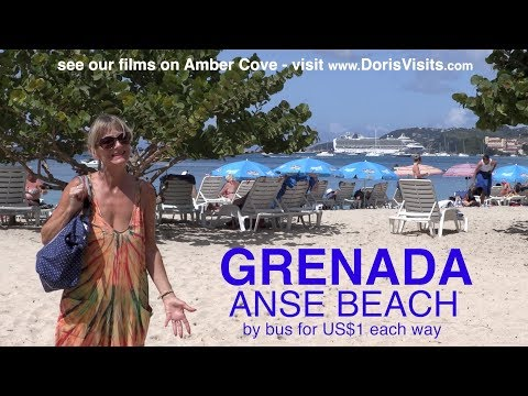 Anse Beach, Grenada, Caribbean - best bars, best way to get there
