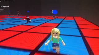 Horrible quality video of Roblox