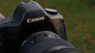 видео Полнокадровые зеркалки Canon EOS 5DS/5DS R получат сенсор с разрешением 50,6 Мп