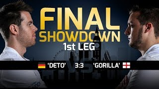 FIWC 2017: The Final Showdown - Deto v Gorilla - 1st Leg Playstation