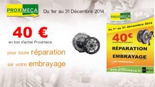 Promotion Embrayage du 1er au 31 Décembre 2014*