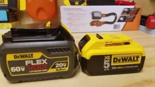 DeWalt FLEXVOLT 20/60v Max Battery Review (DCB606)