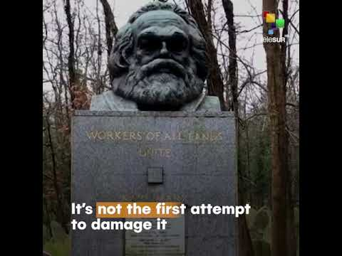 Karl Marx's Grave Was Damaged in a Hammer Attack