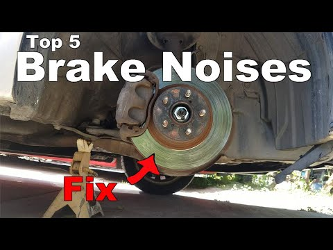 How to Stop Brake Noise (Squeak, Squeal, Grinding Noisy Brakes)