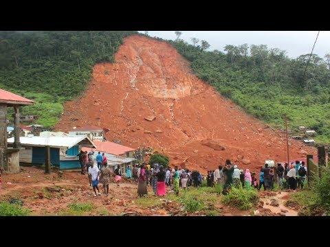 Mudslide kills 200 in Sierra Leone